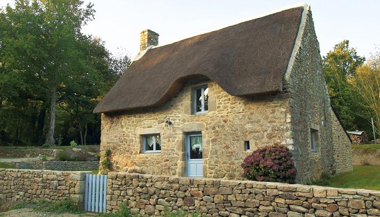 Maison de vacances auray chaumi re bretonne r nov e for Gite en location